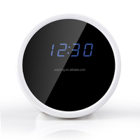 table clock camera with WIFI function wireless security camera