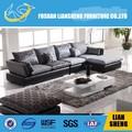 Diseño clásico de cuero moderno salón / tela moderna muebles del sofá del diseño S2019B00