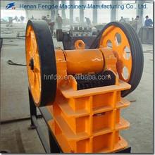 China stone crushing small model jaw crusher machine
