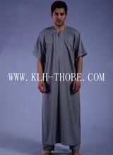abaya for mens, Embroidery thobe