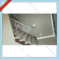 JQ-8194-A1 Stainless Steel Pipe Stair Handrail