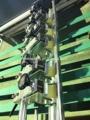 hoja de papel térmico de la máquina de laminación de la película de bopp máquina de corte