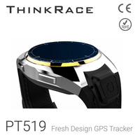 Thinkrace PT519 model Indoor Wi-Fi accuracy position and Pedometer sensor android gps watch