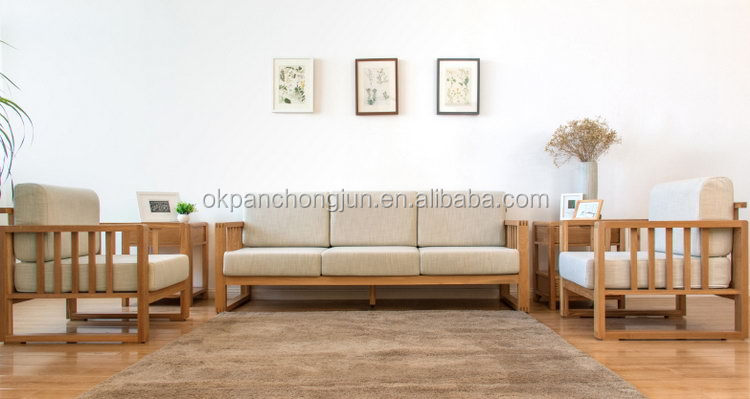 Best Quality Wooden Sofa ~ Top quality hotsell wooden sofa set palace fabric couch