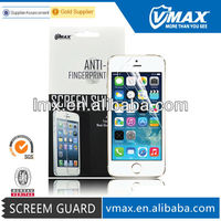 Liquid Ultra Clear screen protector covers for iPhone 5s oem/odm (High Clear)