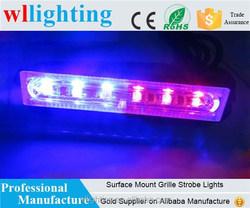 surface mount warning LED/ red blue strobe light for vehicle,boat,truck,police car