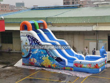 Good Quality Promotional Giant Inflatable Water Slide