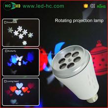 European Market innovative products mini projector logo projection led decoration light