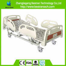 China BT-AE113 Three Functions Electric hospital medical bed height adjustable patient clinical bed for sale