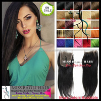 2015 Crazy Hot Sale Quick Delivery Tangle Free Natural Black Dyeable Factory Price 100% Virgin Malaysian Hair Closures