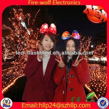 valentine day gift with LED light Personalized Business Items & Gifts for promotion Best selling led hair band