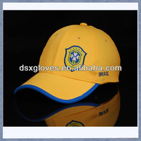 2014 Brazil Football World Cup Baseball Caps Embroidery Country Caps Hat Wholes & Retail