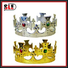 Plastic toy crowns princess crown for girls pageant crowns