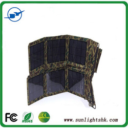 portable multi foldable solar panel charger solar rechargeable bag