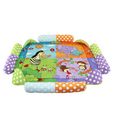 Super Baby Care Early Education Soft Animal Baby Floor Play Mat