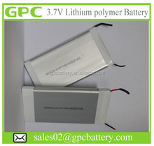 Lithium polymer battery - 3.7V 10000mah two battery cell connected in parallel for Power Bank Battery