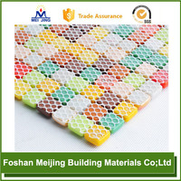 white polyester mesh for chickens for paving mosaic