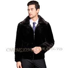 CX-G-A-242 High Quality Genuine Mink Fur Man Jacket