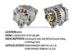 TRUCK & TRAILER & CAR Alternator for Ford Lester 8265, 1-2656-01FD 1F70-18-300