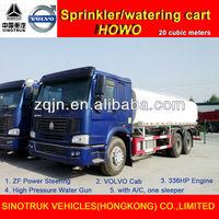 Hot Sale 4400 Gal HOWO 336 Horse Power Spray and Sprinkler Truck