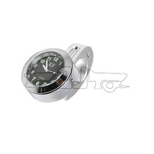 "BJ- HBW-001 Waterproof Motorcycle or Bycicle Handlebar Mount Clock for 7/8"" to 1"" handlebar cruisers/chopper"