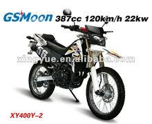 Powerful 400cc Water Cooled Euro III dirt bike