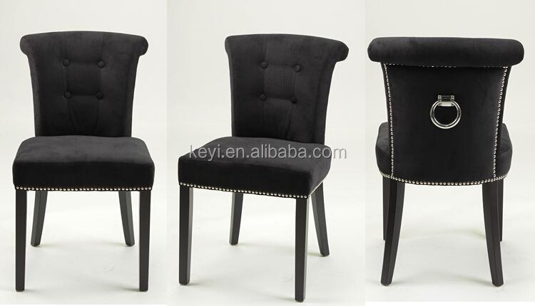 moderne bouton tissu de conception salle manger salon h tel anneau retour chaise ky 3205. Black Bedroom Furniture Sets. Home Design Ideas