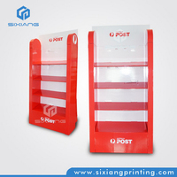 New Design Full Color Printing Product Furniture Cardboard Floor Free Stand Display for Service Equipment