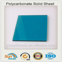 blue polycarbonate solid sheet