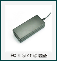 Desktop 24V 60W AC DC switching power adapter/adaptor with CE,FCC,UL,GS,SAA,approved