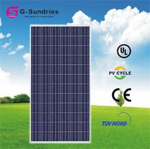 High efficiency poly 300w 24v solar panel