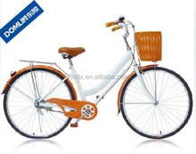 classic style 26 inch single speed city bicycle for women made in China