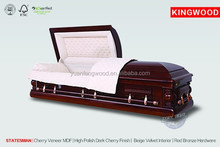 wooden casket luxury STATESMAN manufacture casket coffin