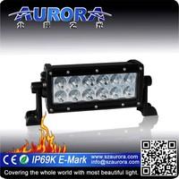 SAE and DOT approved AURORA 6inch 60w atv off road led lights 12v