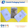 2015 Plastic cellphone accessories bag with euro hole/phone accessories zipper bag made in China