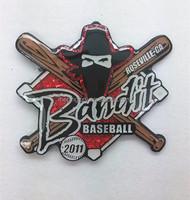 baseball lapel pin black dying badge custom lapel pin metal lapel pin manufacturers china