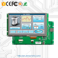 """7"""" TFT LCD Screen with Driver + Controller Board + Program + Serial Port Support Any MCU"""