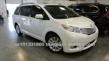 "Used 2013 TOYOTA SIENNA LIMITED FWD ""Toyota Certified Used Car"" / Export to Worldwide"