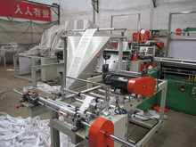 Computer Heat-sealing & Cold-cutting Single line Bag Rolling making Machine
