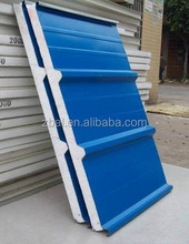 50 75 100 150mm thickness foam sandwich panel for wall and roofing