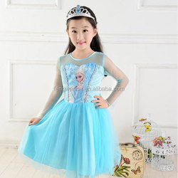 Party dress /Little girls dress /Frozen movie series of dress