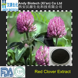 40% HPLC Isoflavones Top Quality Red Clover Extract Powder