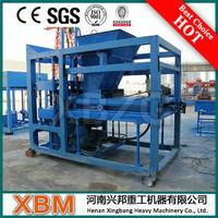 CE Approved Small Scale Concrete Brick Making Machine