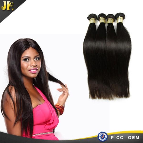Nouvelle arrivée cheveux faisceau de vierge cheveux vague droite péruvienne cheveux extension