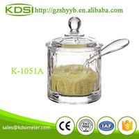 FDA list wedding favors acrylic kitchenware clear K-1051A mason jars wholesale