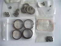 High-pressure common rail injector oil adjustment shims