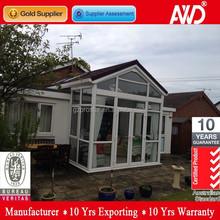 Modern style aluminun glass sun house