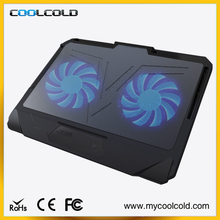 Fashion and unique design notebook cooling fan, laptop cooling base