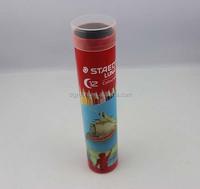 popular red round pencil box