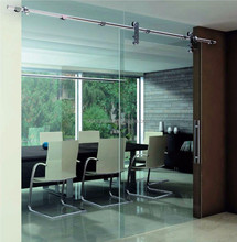 Modern tempered glass sliding door with CCC